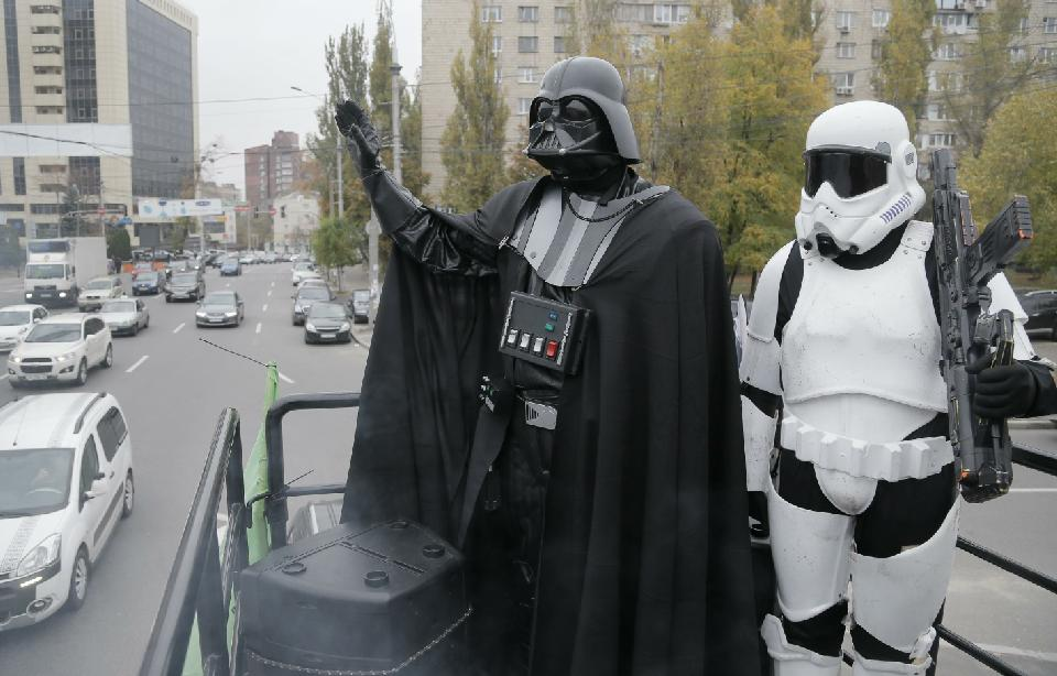 Darth Vader Ukraine