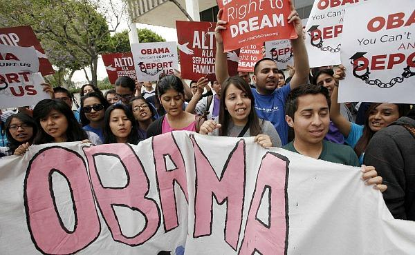 Obama Immigration Protesters