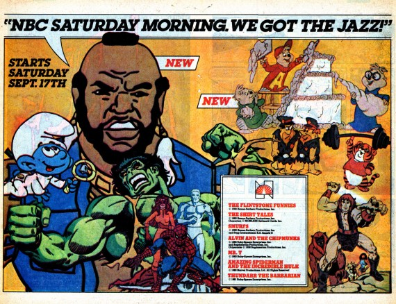 Today was the first saturday without saturday morning cartoons