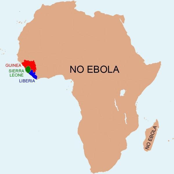 Africa-Ebola-Map