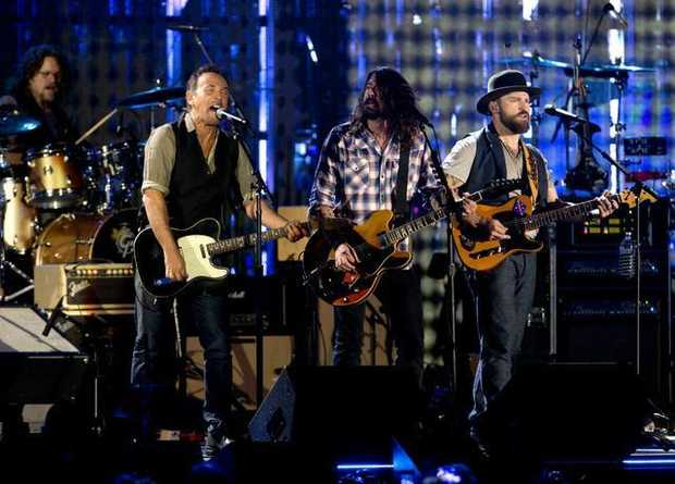 Bruce Springsteen Dave Grohl Zac Brown