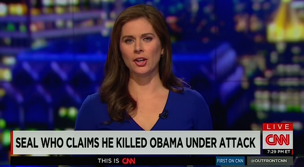 CNN Obama Chyron