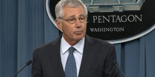 Hagel's Dismissal A Reflection Of Contradictory Policy