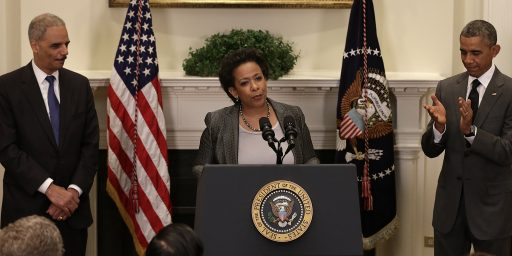 Loretta Lynch Confirmed As 83rd Attorney General Of The United States