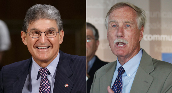 Joe Manchin Angus King