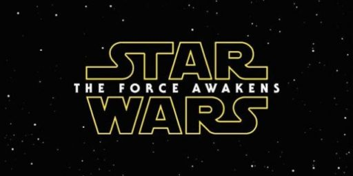 Star Wars Episode VII Gets A Title, Star Wars: The Force Awakens