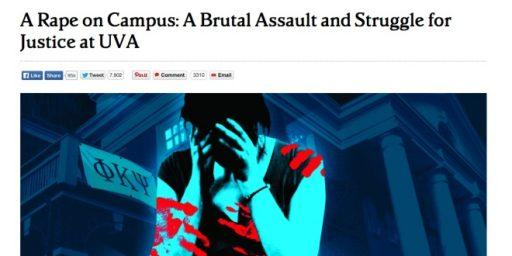 <em>Rolling Stone</em> Walks Back Key Allegations Of Campus Rape Expose