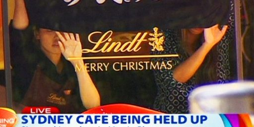 Hostage Crisis In Sydney, Australia Cafe Apparently Linked To Terrorism