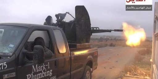 Texas Plumber's Used Truck Ends Up In Syria Being Driven By Islamist Fighters