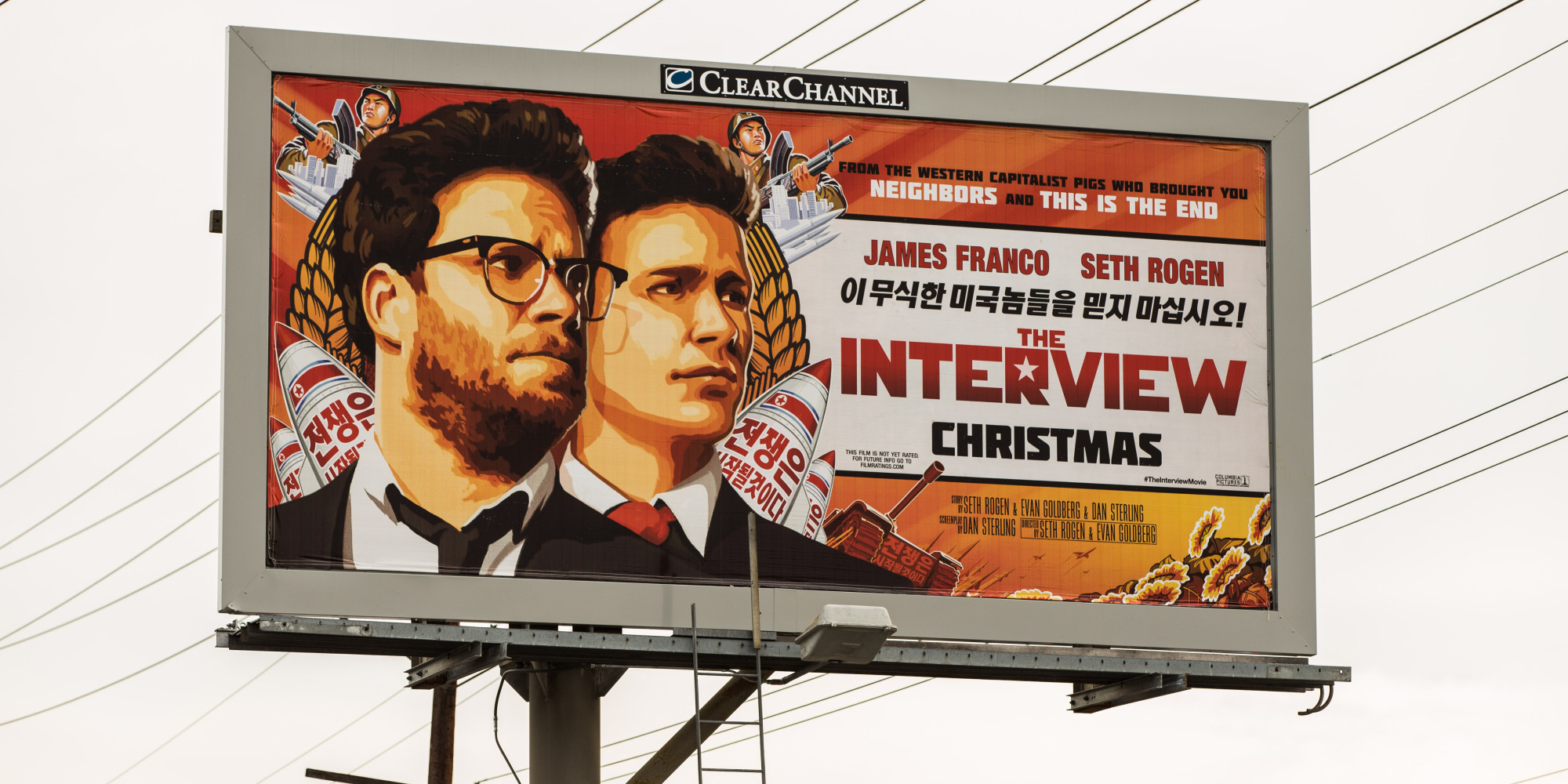 "Sony Pictures Cancels Releaase Of ""The Interview"" After Hacker Threats"