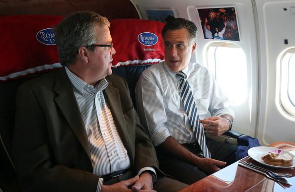 Mitt Romney Jeb Bush