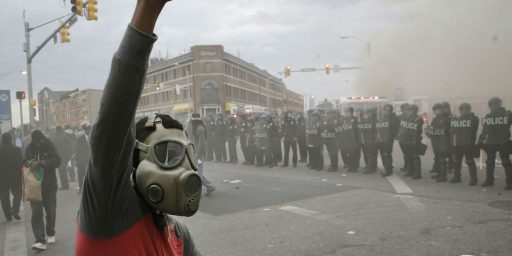 Justice Requires Holding Both Baltimore's Rioters And Its Police Responsible For Their Actions