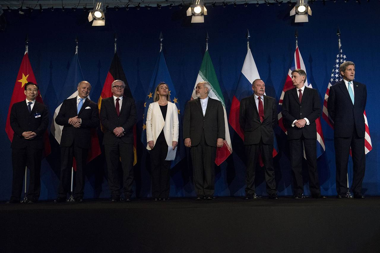 Iran Nuclear Accord Photo Op