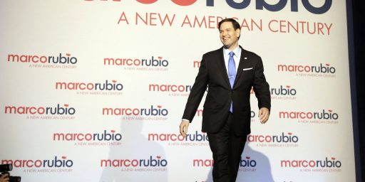 Marco Rubio Gains Support Of Top Republican Fundraiser