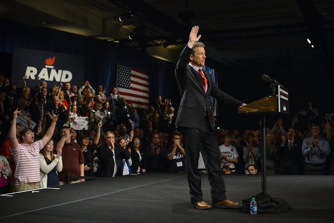 Rand Paul Campaign Rally
