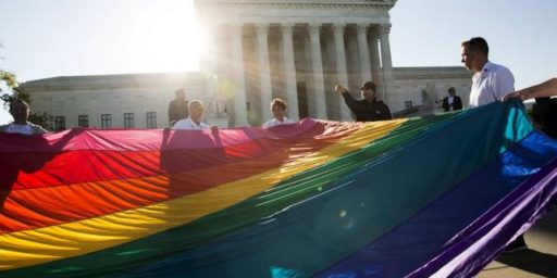 Same-Sex Marriage Gets Its Day At The Supreme Court