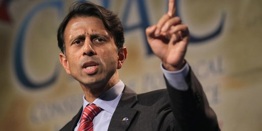 Bobby Jindal's Utterly Pointless 'Religious Liberty' Campaign Stunt