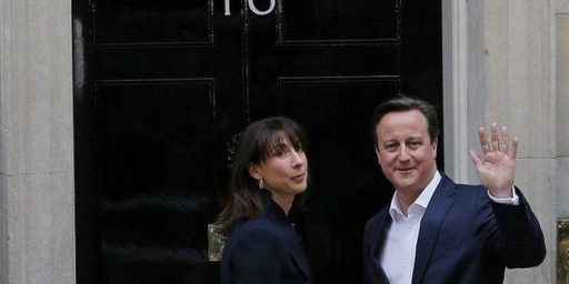 David Cameron And Britain's Conservative Party Score A Surprising Win