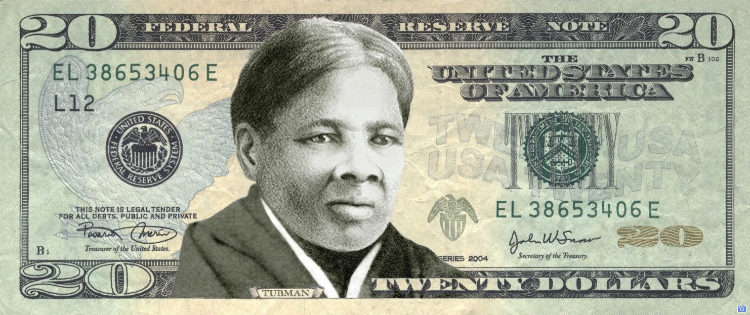 Harriet Tubman Twenty Dollar Bill