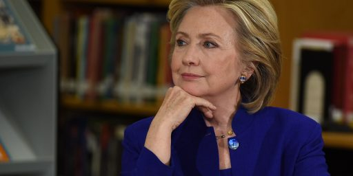 Hillary Clinton Hasn't Taken Press Questions in 21 Days, Because She Doesn't Need To