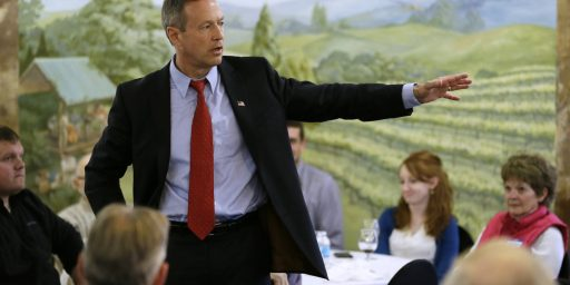 Martin O'Malley Launches Quixotic Run For The White House