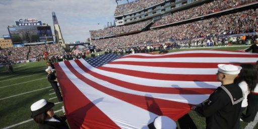 Pentagon Paid N.F.L. For Tributes To Troops