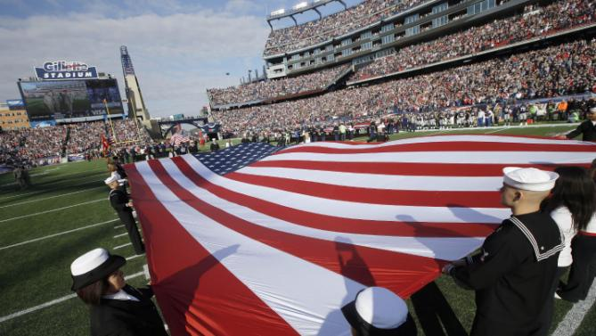 NFL Military Tribute