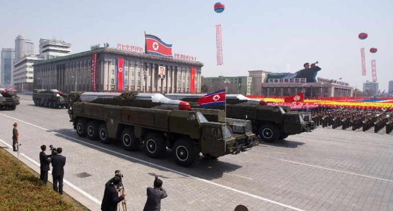 North Korea Military Parade Weapons
