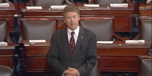 Rand Paul Holds The Senate Floor To Talk About PATRIOT Act Renewal, Civil Liberties