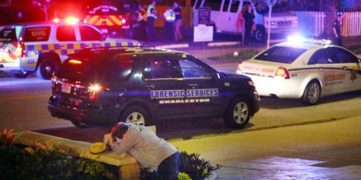 Nine Dead In Shooting At African-American Church In Charleston, South Carolina