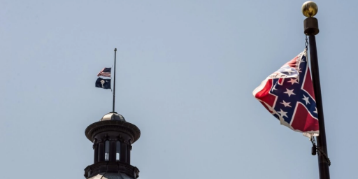 South Carolina House Approves Removal Of Confederate Flag