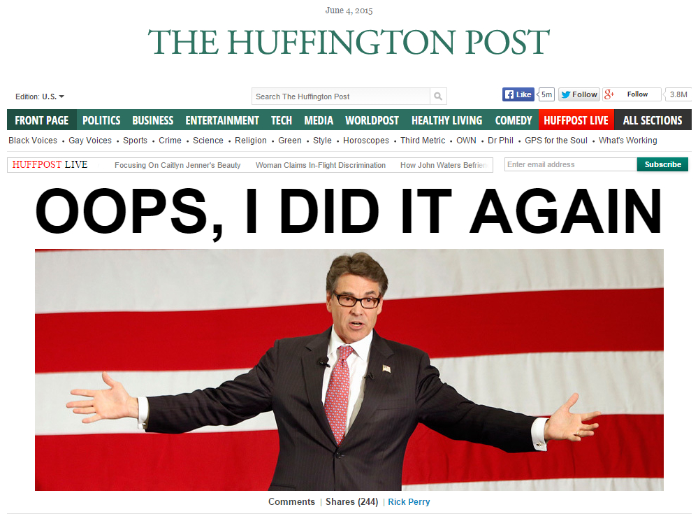 HuffPo Perry
