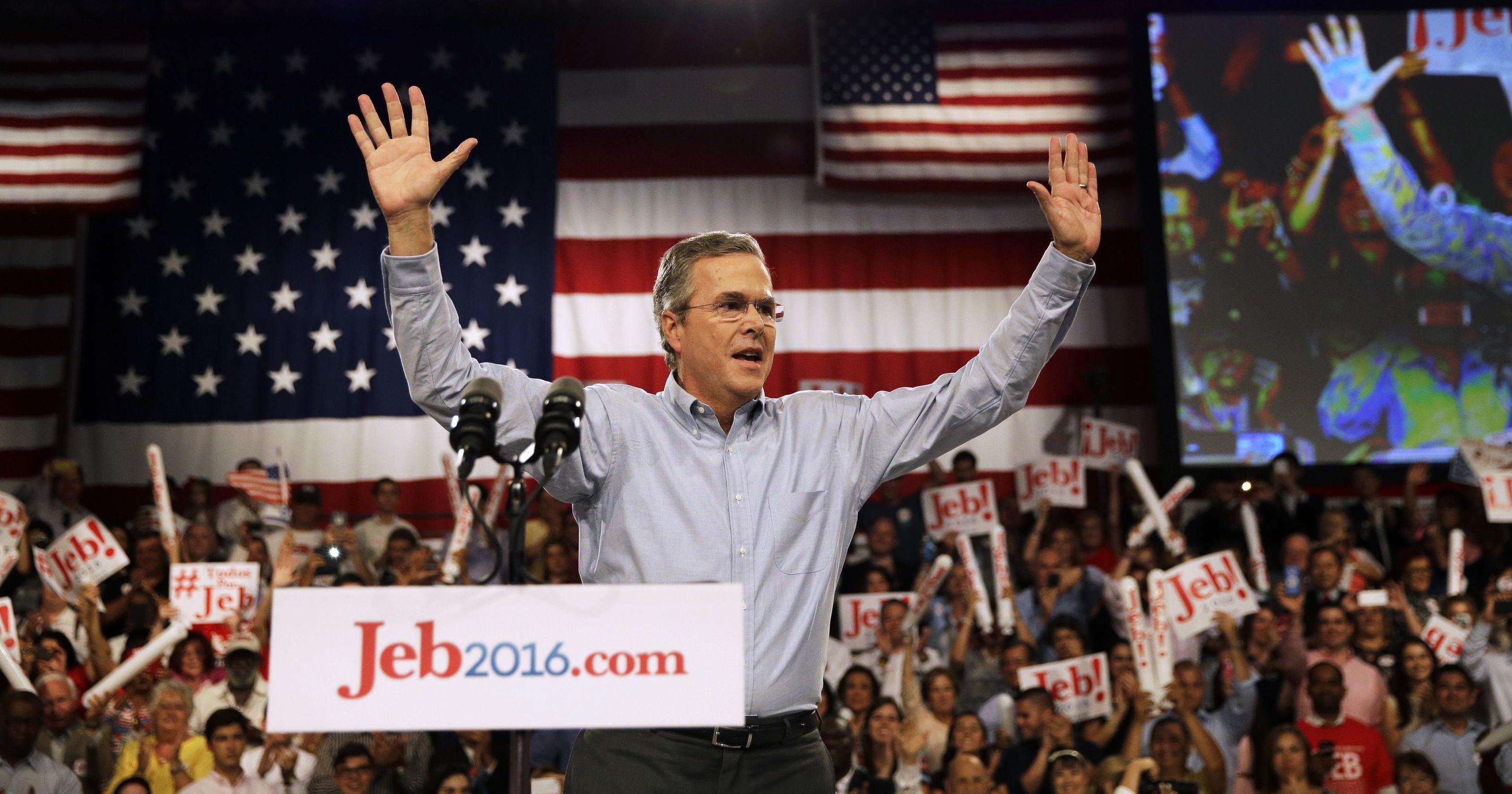 Jeb Bush Campaign Speech