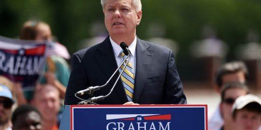 Lindsey Graham Begins His Long Shot Bid For The Presidency
