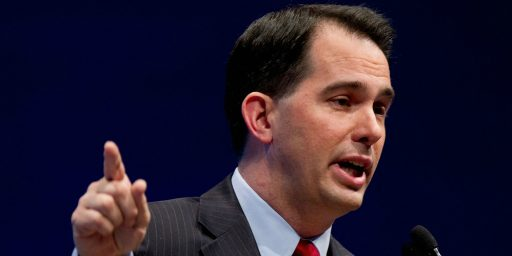 David Cameron Rebukes Scott Walker