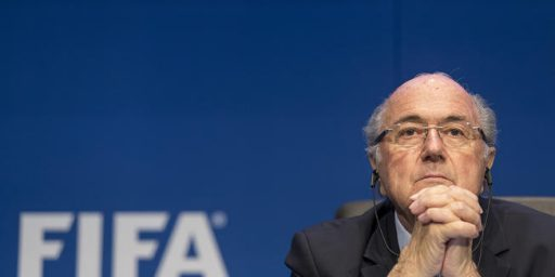 FIFA President Sepp Blatter Resigns As The Vultures Circle