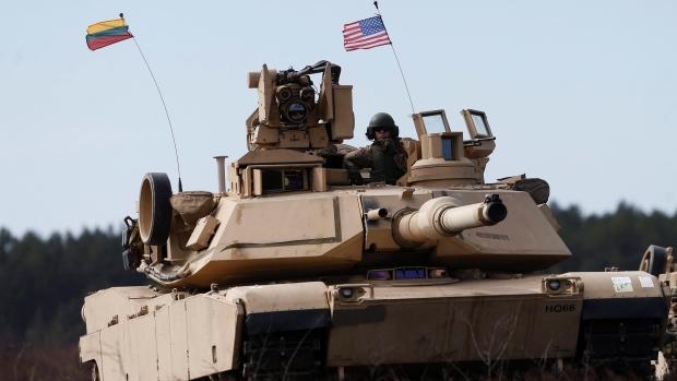 U.S. Tank Lithuania