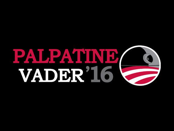 Vader Palpatine 2016