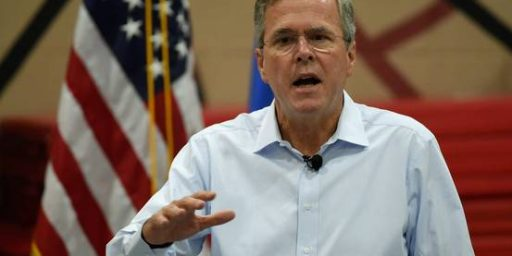 Jeb Bush Breaks With Most Other Republicans On Refugee Policy