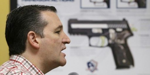 Ted Cruz with a Gun to His Head