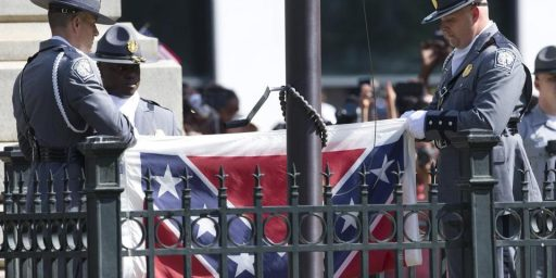 South Carolina Takes Down The Confederate Flag