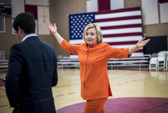 Clinton Shrug