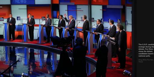 First Republican Debate Sets Viewership Record
