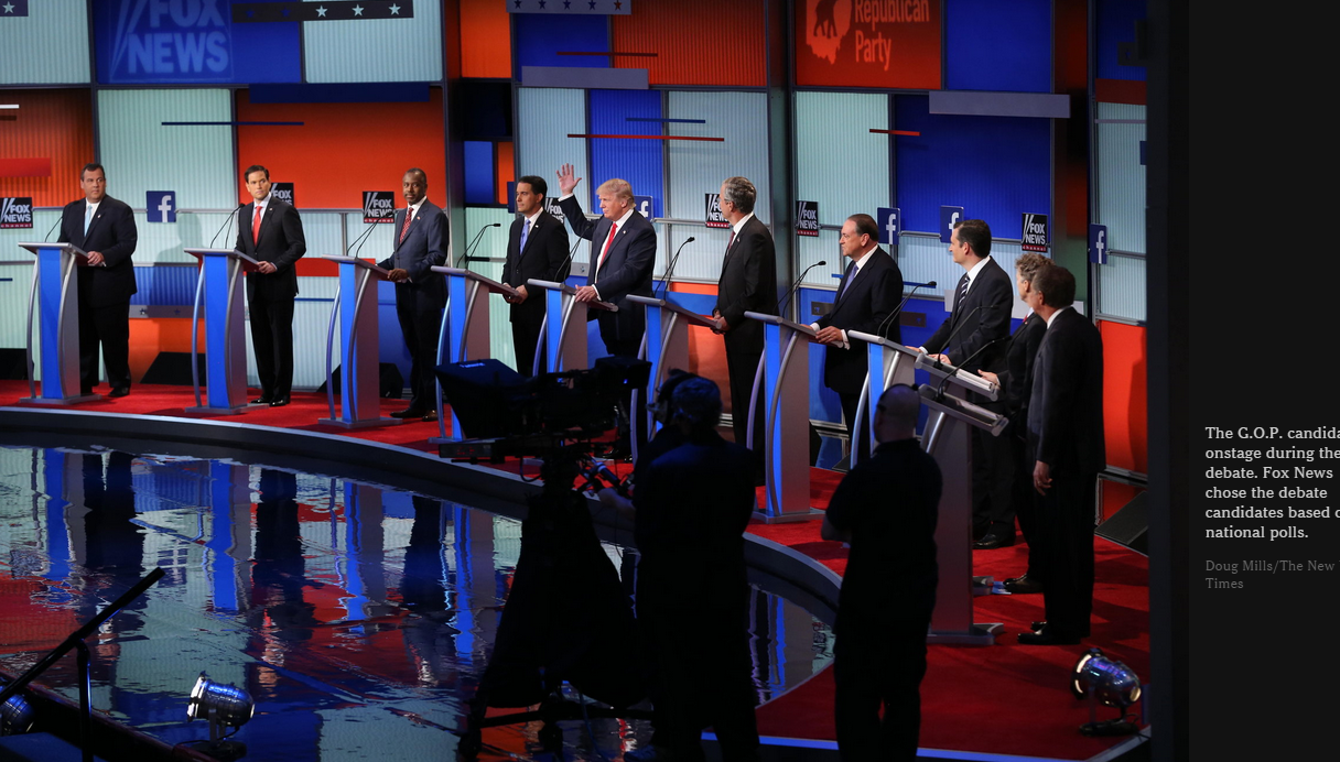GOP Debate Aug 15