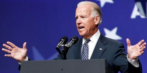 Joe Biden Announces He's Not Running For President
