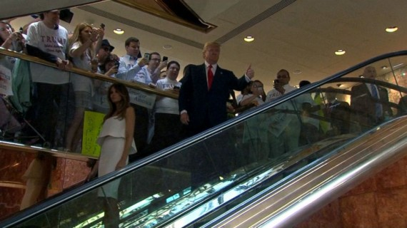 Trump Escalator