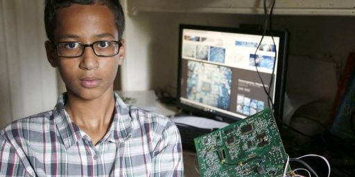 Texas 9th Grader Arrested For Building A Clock