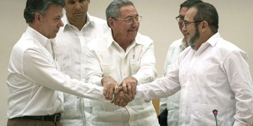Major Step Forward for Colombian Peace Process