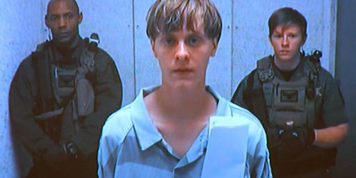 Federal Trial For Charleston Shooter Dylann Roof Set For November