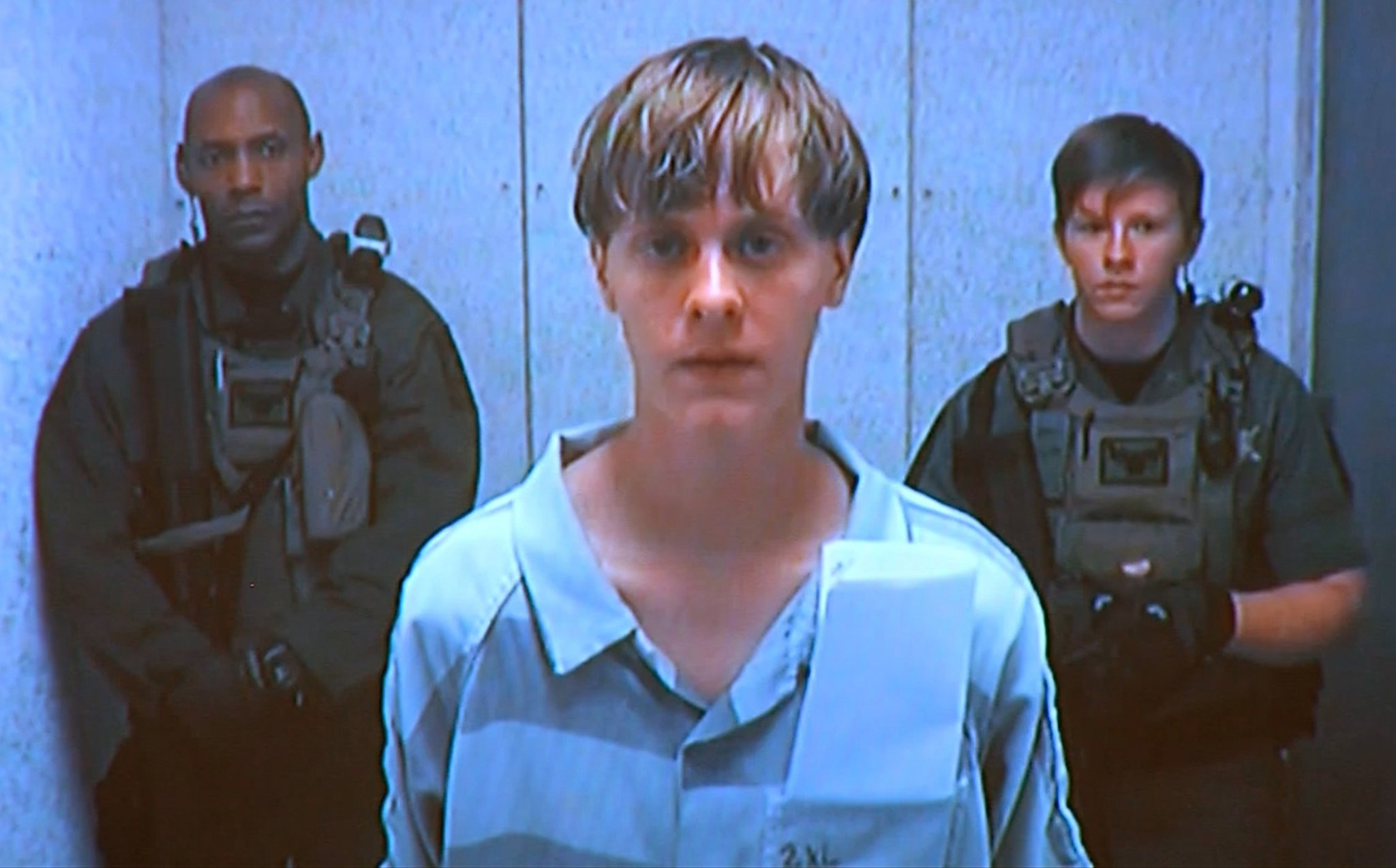 Dylann Roof In Custody